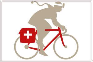 Скорая помощь на велосипеде